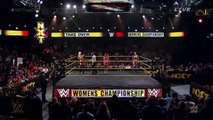 NXT Takeover: Fatal 4-Way - JoJo announcing Bayley vs Charlotte