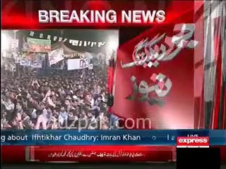 I don't need Army's back , my nation's Army is with me :- Imran Khan