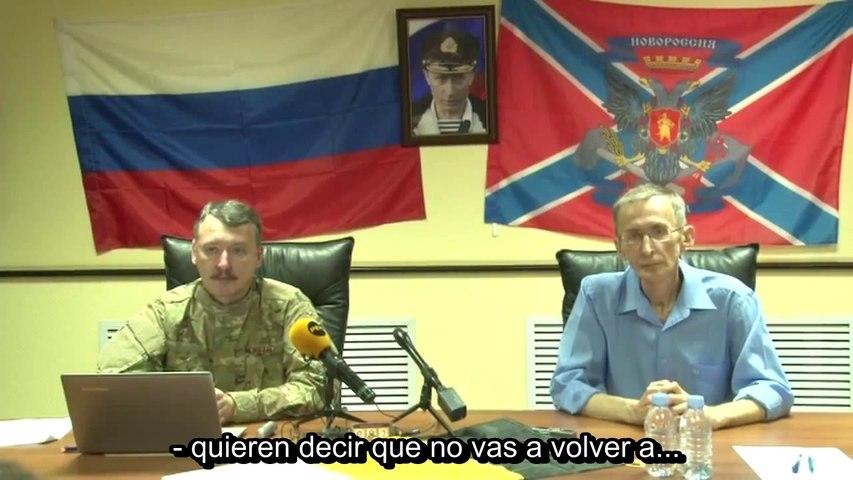 Igor Strelkov comparecencia de prensa 11/09/2014