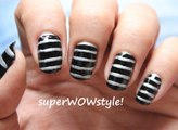 Super Quick Designs! ♦ Cute Nail Art Stripes ♦ How to Do Nail Designs Step By Step
