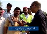 Flood coverage by Such TV (Aaj ka Such Nadeem Hussain K Sath)
