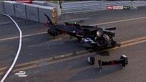 Le spectaculaire accident de Nick Heidfeld lors du  lors du e-Prix de Pékin