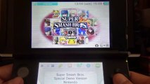 Réaction démo super smash bros sur 3ds