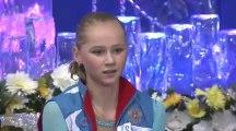 Serafima Sakhanovich ISU 2014 Jr Grand Prix Nagoya Ladies Short Program
