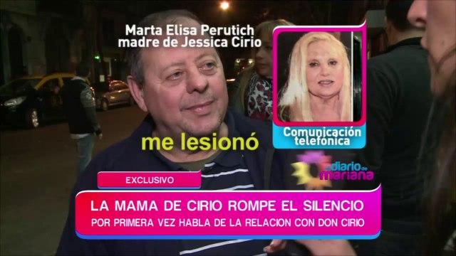 La mamá de Jésica Cirio rompió el silencio y atacó a Don Cirio