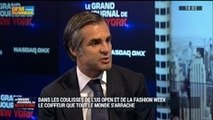 Le coiffeur frenchie que toutes les grandes stars de tennis s'arrachent à l'US Open !: Julien Farel, dans Le Grand Journal de New York - 13/09 1/4