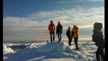 Avec les guides de Saint-Gervais dans les glaces de l'Arctique
