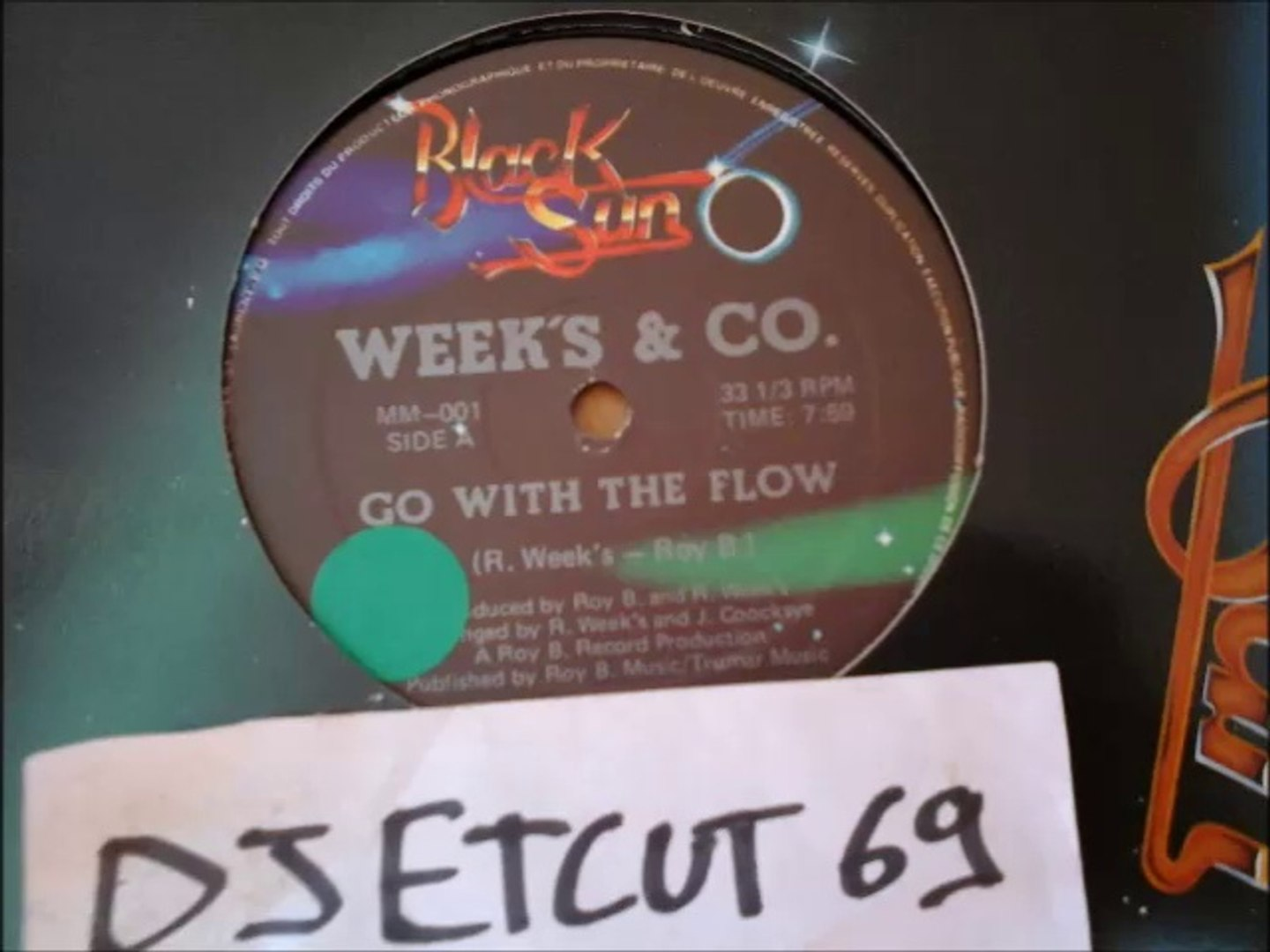 WEEK'S & CO-GO WITH THE FLOW(RIP ETCUT)BLACK SUN REC  82