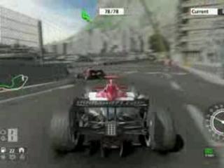 Video Formula one 2007 sur PS3