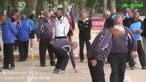 Demi-finales, France Quadrettes Vétérans, Sport Boules, Epinal 2014