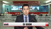 Korean EV sales declining despite global EV sales spike