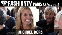 Michael Kors Front Row ft Heidi Klum, Mary J Blige, Olivia Munn | NYFW Spring 2015 | FashionTV