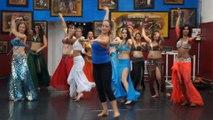 Cours de danse orientale à Toulouse avec Maya Sarsa