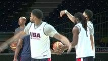 Basket: Etats-Unis et Serbie prêts à s'affronter en finale