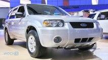 2005-2008 Ford Escape Hybrid Recalled, Also Mercury Mariner Hybrids
