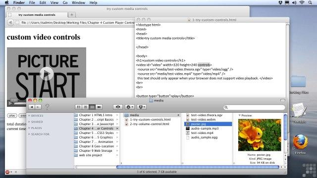 Advanced HTML5 Programming – Custom Media Controls – HTML5 Media Basics