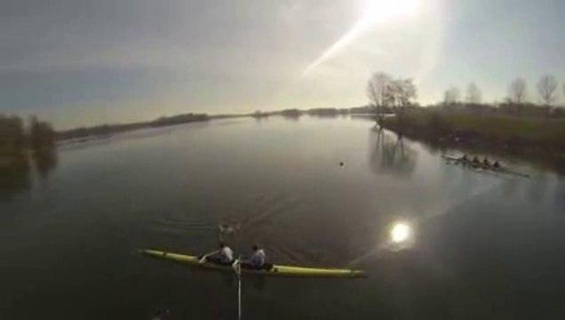 drone ASUL Aviron - Grand Parc