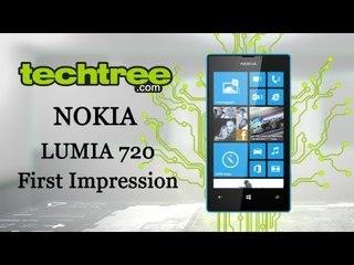 Nokia Lumia 720 First Impression