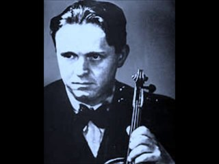 Adolf Busch - J.S. Bach : Chaconne de la Partita n° 2