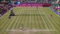 Venus Williams vs Sara Errani 2012 London R1 Highlights