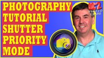 Photography Tutorial: Shutter Priority Mode - Using Fast Shutter Speed and Slow Shutter Speed