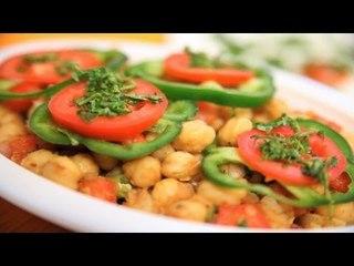 Best Kabuli Chana Chaat (Chickpea Salad) By Veena
