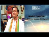 Shashi Tharoor, MoS, Human Resource Development    Worked On 475 Small Projects