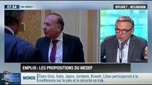 RMC Politique : Emploi: les propositions du Medef – 15/09