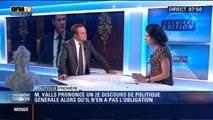 Politique Première: Manuel Valls: pourquoi prononcer une deuxième fois un discours de politique générale ? - 15/09
