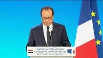 """Syrie : Hollande appelle à appuyer """"par tous les moyens"""" l'opposition démocratique"""