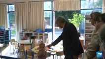 Les Elus carcassonnais retournent à l'école quelques jours après la rentrée pour s'assurer des points à améliorer.