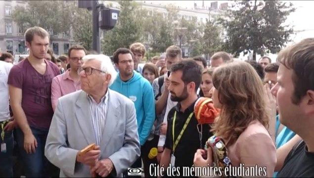 Intervention de Paul Bouchet lors du Congrès de la FAGE 2013, Place Bellecour