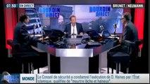 RMC Politique - Emploi : Les propositions du Medef – 15/09