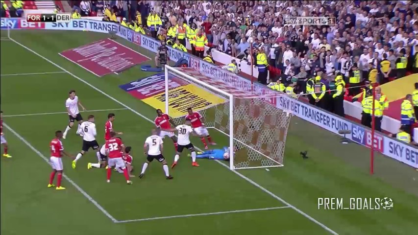 Nottingham Forest 1-1 Derby County - Highlights ENGLISH-HD