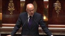 """Loi antiterroriste: un texte """"protecteur des libertés publiques fondamentales"""", assure Cazeneuve"""