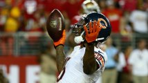 Brandon Marshall's One-Handed Touchdown Catch Against 49ers, Kisses Jay Cutler
