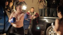 Street Fight contrôlée - Street match de boxe