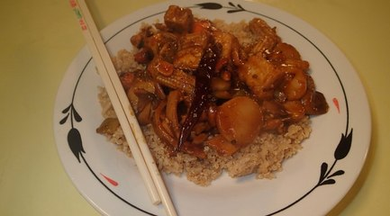 http://thefatveganchef.com - Kung Pao Tofu