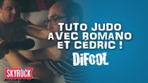 Tuto judo avec Romano et Cédric dans la Radio Libre de Difool