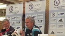 Kaos Bola   José Mourinho press conference in Austria I FC Chelsea Trainingslager