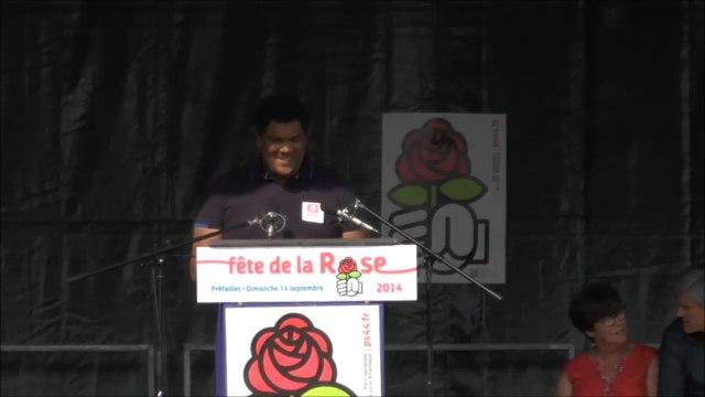 Discours de Romain Delaunay - Fête de la rose de Préfailles 2014