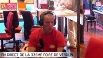 Interview de Florian, chef d'équipe du service sécurité de la foire expo de Verdun