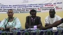 Allocution de M. Lazare Eloundou lors de l'Atelier de Formation des Formateurs à l'inventaire du Patrimoine Immatériel du Mali