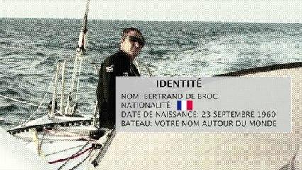 Portrait du navigateur breton Bertrand de Broc