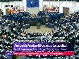Acordul de Asociere UE-Ucraina a fost ratificat. Situaţia din Ucraina a fost temă de dezbatere în Parlamentul European