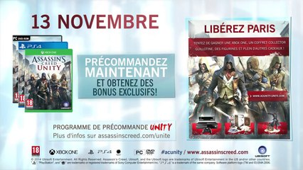 Trailer mode coopération de Assassin's Creed Unity