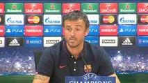 Luis Enrique stresses importance of Champions League opener