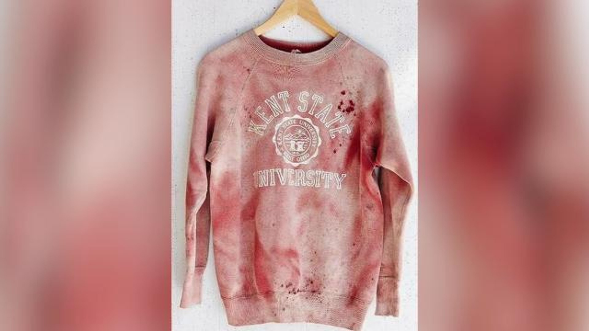 Urban Outfitters Apologizes for Bloody 'Vintage' Kent State Sweatshirt