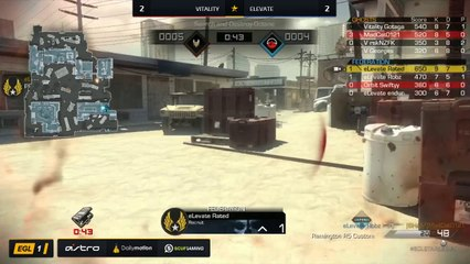 EGL SS : Vitality vs elevate : Quarter Finals - Map 5