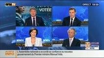 20H Politique: Vote de confiance: Manuel Valls n'a pas obtenu la majorité absolue - 16/09 1/2